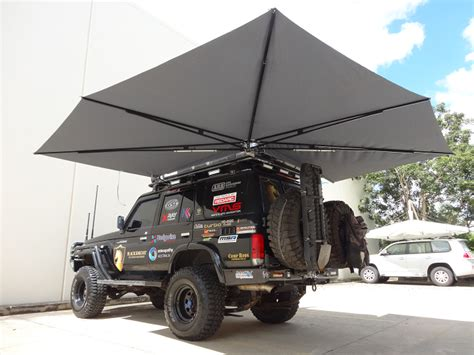 4wd shade awning clevershade 174 270 176 4 215 4 4wd vehicle shade australian made