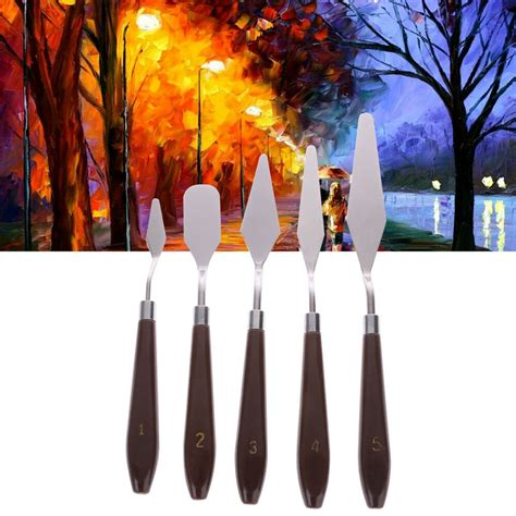 5 Painting Knife by Artist Painting Palette Knife Spatula Paint For Thick
