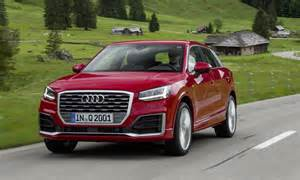 Audi Small Suv New Audi Q2 Compact Suv Pricing Business Car Manager