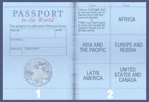blank passport template blank fill in the us passports pictures to pin on