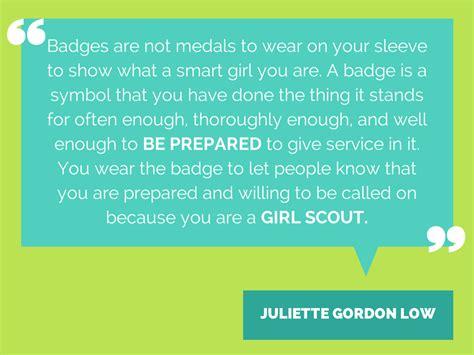 quotes  juliette gordon  girl scouts river valleys volunteers