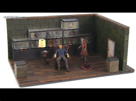 walking the room mcfarlane the walking dead the governor s room set review