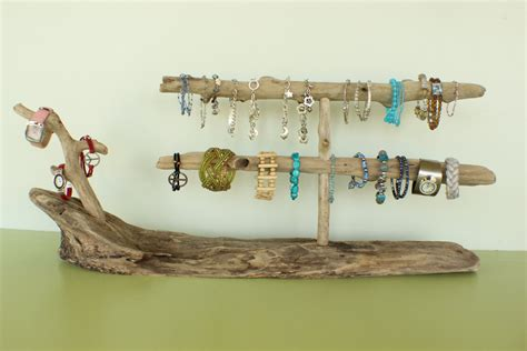 X Large Driftwood Jewelry Holder / Bracelet & Watch Holder