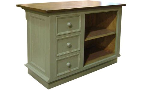 kitchen island three vertical drawers kate furniture