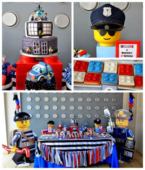 Kara's Party Ideas Lego City Police Themed Birthday Party