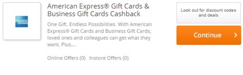 American Express Gift Card Cash - american express gift cards returning to cash back portals