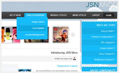 sbi mico layout email id clean modern business joomla template jsn mico rtl