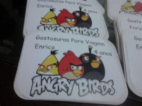 Haver Non Kupas By A D Bird r 243 tulo marmita personalizada angry birds no elo7