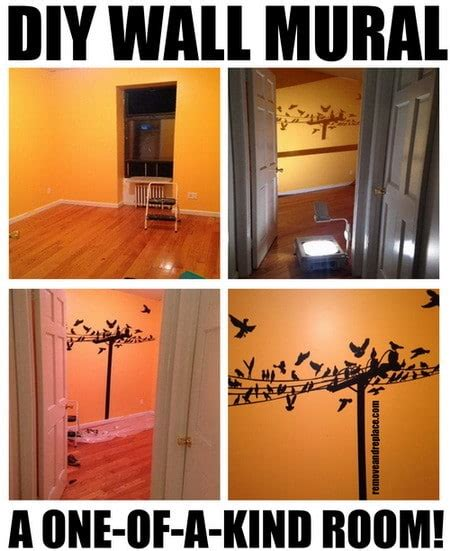 How To Make Wall Murals how to make a diy wall mural painting us2