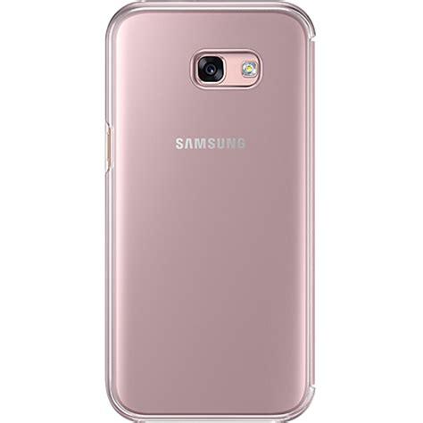 Clear Samsung A5 phone cases clear view book pink samsung galaxy a5 2017
