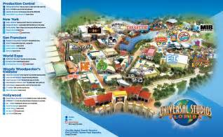 Universal Studios Orlando Interactive Map by Orlando Universal Studios Florida Map Southtracks