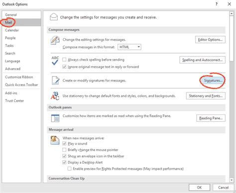 Office 365 Outlook Create Signature How To Create An Email Signature In Outlook 2016