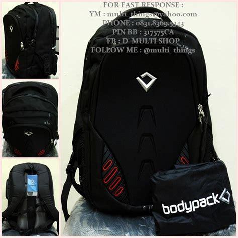 Bodypack Twoline 2 0 Black d multi shop jual bodypack original 100