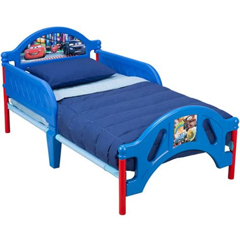 car toddler bed disney cars toddler bed walmart com