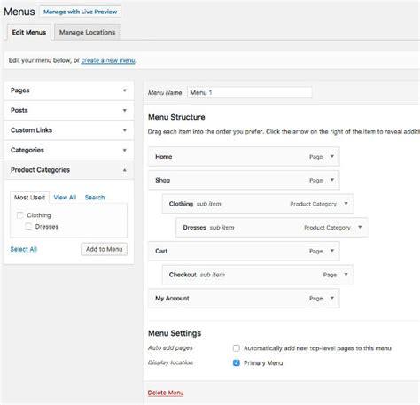 tutorial membuat toko online gratis dengan wordpress tutorial membuat toko online dengan wordpress 4 centerklik