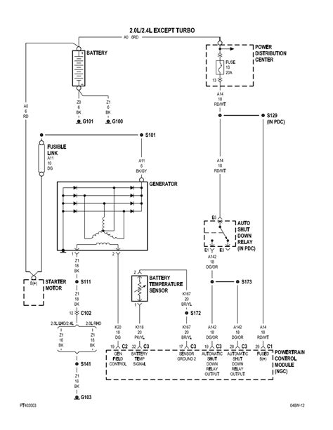 2001 pt cruiser ac line diagram 2001 free engine image
