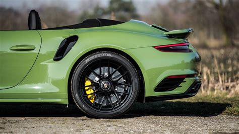 porsche green sight to behold olive green porsche 991 turbo s cab mk ii