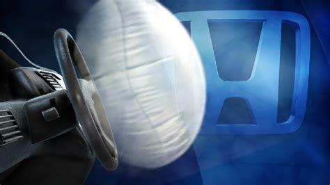 honda recall airbag airbag safety honda recall