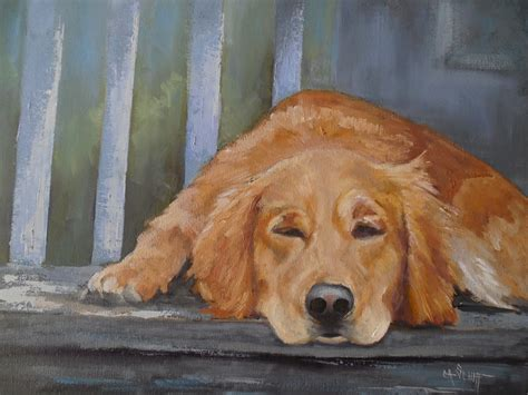 puppy paint carol schiff daily painting studio to the dogs