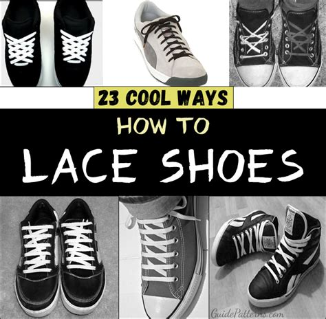 how to bar lace converse low tops 23 cool ways to lace shoes guide patterns