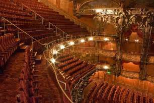 Split Plan House The Lyceum Theatre Auditorium Seating In The Theatre Is