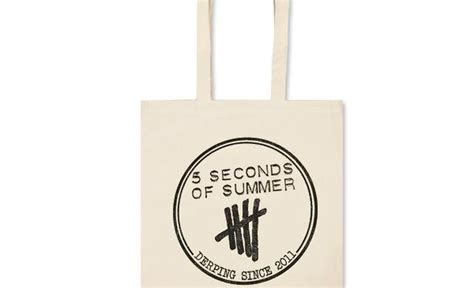 5 Seconds Of Summer Official Poster Iphone All Hp 5sos tote bag