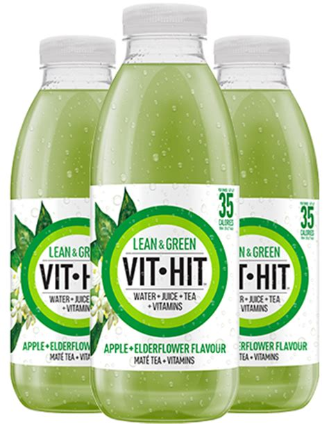 Go Lean Detox by Vithit Low Calorie Vitamin Drinks The Ultimate Healthy