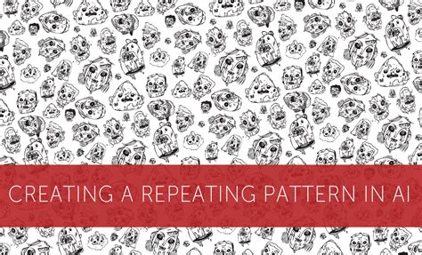 make repeating pattern adobe illustrator how to create a repeating pattern in illustrator