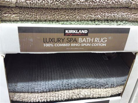 Kirkland Signature Luxury Spa Bath Rug Costco Clearance Kirkland Signature 100 Cotton Reversible Luxury Spa Bath Rug 24 Quot X 36 Quot 11 97