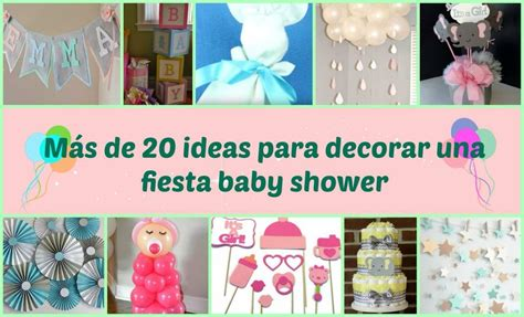 decorar mesa para baby shower como decorar baby shower facilisimo
