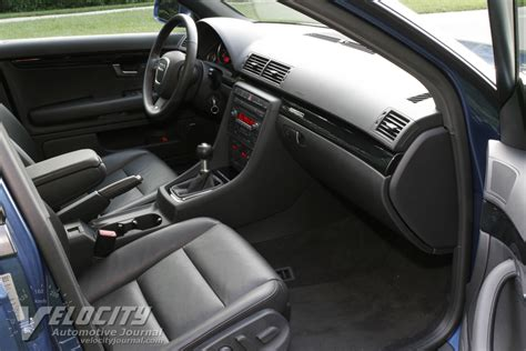 2006 Audi A4 Interior by Picture Of 2006 Audi A4 Sedan