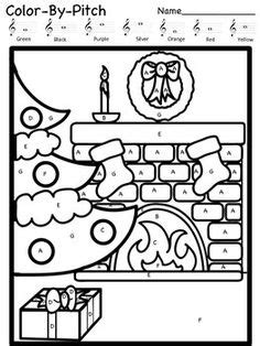 holiday music coloring pages music coloring sheets on pinterest sub plans coloring