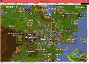 Osrs World Map by Osrs Client
