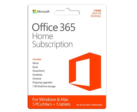 Office 365 Zoom Microsoft Office 365 Home Edition For 5 Pcs Software