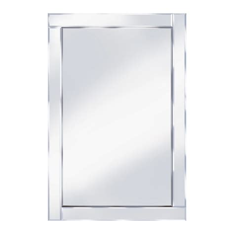 bevelled 120x80 large wall mirror 15132 furniture in
