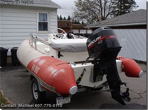 inflatable boats for sale by owner 1990 hbi 14ft hard bottom inflatable used boats for sale