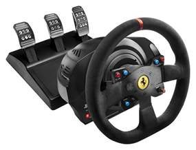 Steering Wheel And Gear Stick Thrustmaster T300 Integral Alcantara Edition