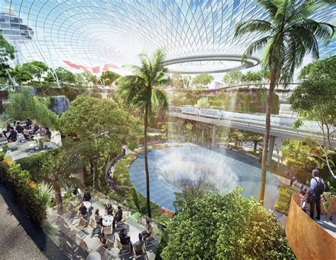 Bio Di Singapore legendary architect moshe safdie unveils indoor bio dome for singapore s changi airport