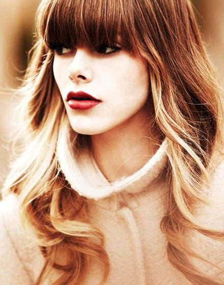 beach wave haircuts with bangs photos 25 popular hairstyles for long hair girls styles weekly