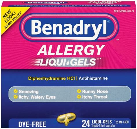 Shelf Of Benadryl by Benadryl Allergy Liqui Gels 24ct Just 1 35 At Target