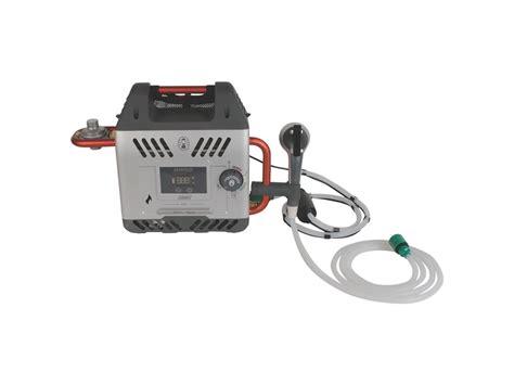 portable propane water heater coleman h2oasis elite portable propane hot water mpn