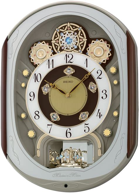 Jam Dinding Seiko Qxm363b Pendulum Melodies qxm276b magic motion clock rm656 wholesale price malaysia