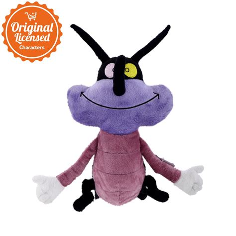 Oggy Basic 9 Inch oggy and the cockroaches joey basic plush 6 inch purple