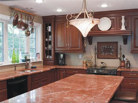 the cozy impression of counter pink kitchen counters granite countertops marble