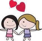 imagenes de amor lésbico postales de lesbianas gratis para enviar a tu pareja para