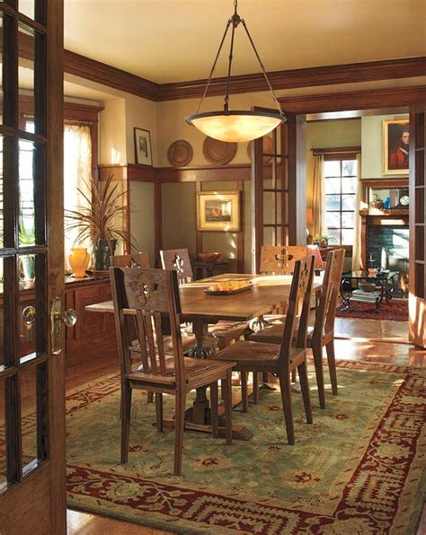 arts and crafts style home decor 237 best images about craftsman dining rooms on pinterest