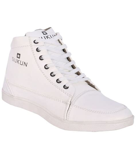 sukun white casual shoes for price in india buy sukun