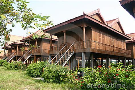 home design company in cambodia traditional cambodian wooden houses stock images image