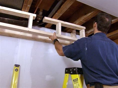 how to build a soffit in basement how to build a soffit how tos diy