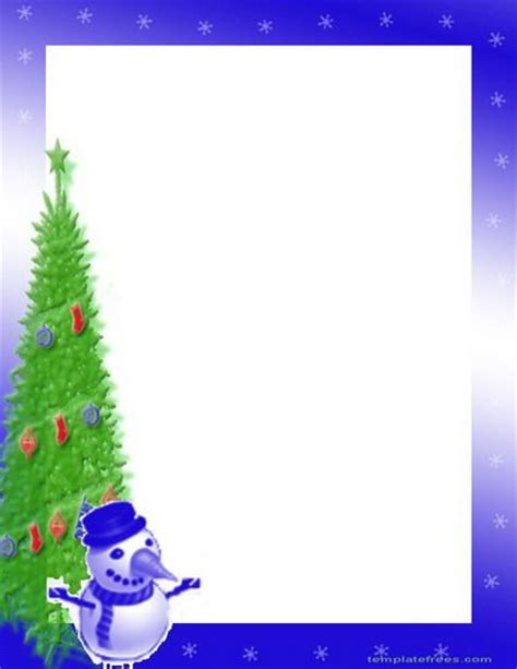 free printable christmas tree borders 16 best images about border templates on pinterest